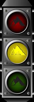 Semaforo Montaña Amarillo